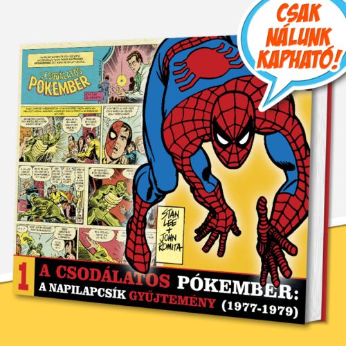 A csodálatos Pókember: A napilapcsík gyűjtemény 1.